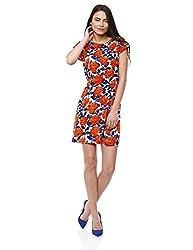 Prym Women's Annabel Dress (1011506307_Orange Mix_Medium)