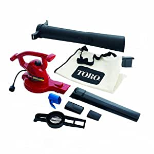 Toro 51609 Ultra 12 amp Variable-Speed (up to 235) Electric Blower/Vacuum with Metal Impeller (Discontinued by Manufacturer)