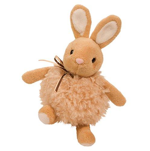 """Douglas Cuddle Toys 8"""" OATMEAL TAN PUFF BUNNY"""