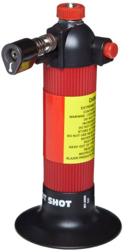 Great Features Of Blazer MT3000 Hot Shot Butane Torch, Red