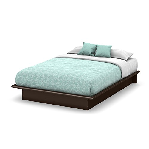 Discover Bargain South Shore Furniture Step One Full Platform Bed, Chocolate
