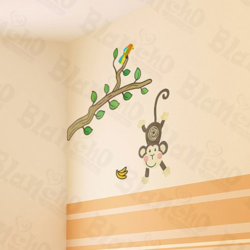 Monkey Land - Wall Decals Stickers Appliques Home Decor