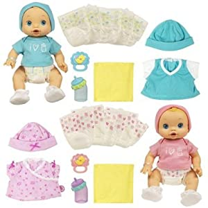 Amazon Com Baby Alive Wets N Wiggles Value Pack Toys Amp Games