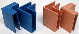 Flap Tacks Cardboard Box Clips - 2 Pairs