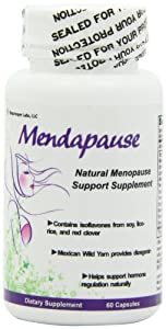 Mendapause 12 Ingredient Menopause Supplement for Hot Flashes, Night Sweats, and Mood Swings (60 capsuls)