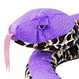 ZSL - Plush Glitter Snake Purple 130cm