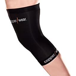 Copper Wear Compression Knee Sleeve, Medium