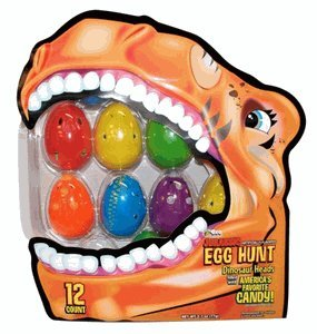 Jurassic Easter Eggs Filled with Candy