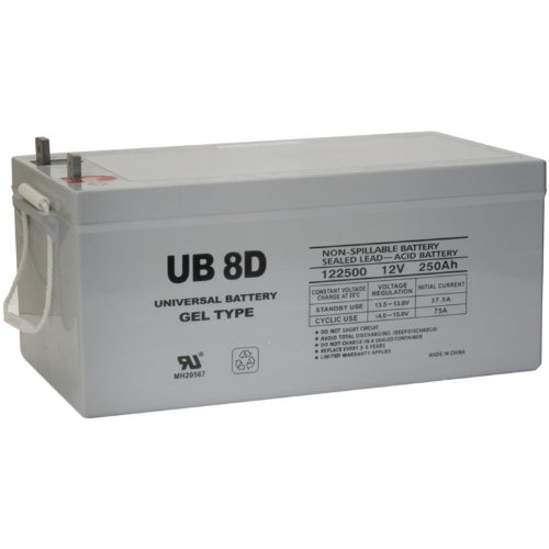 UPG 40702 Ub-8d Gel Sealed Lead Acid Battery