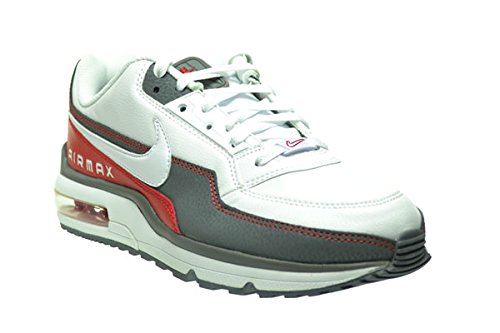 Nike Air Max LTD 3 Men's Shoes WhiteWhite Cool Grey Sport Red 687977 166 (10 D(M) US) 99.99 $ Køb i dag!  $99.99 Buy today!