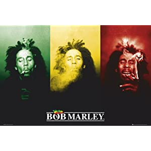 GB eye Ltd, Bob Marley, Flag, Maxi Poster, (61x91.5cm) LP1198