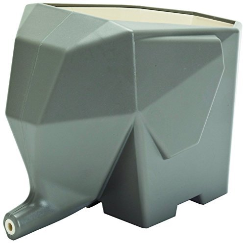 CECII Elephant Design Plastic Cutlery Drainer Storage Holder Box for Home Kitchen, Bathroom (Grey) (Pencil Shower Head compare prices)