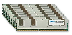 NEW DELL MADE GENUINE ORIGINAL 64GB KIT (8 x 8GB) DDR2-667 PC2-5300 240 PIN Fully Buffered RAM Upgrade for DELL POWEREDGE 1950 2950