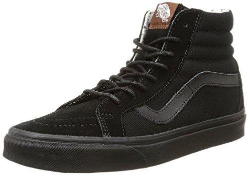 Vans  U SK8-HI REISSUE,  Sneaker donna Nero Noir (T&S/Black/Plus) 37