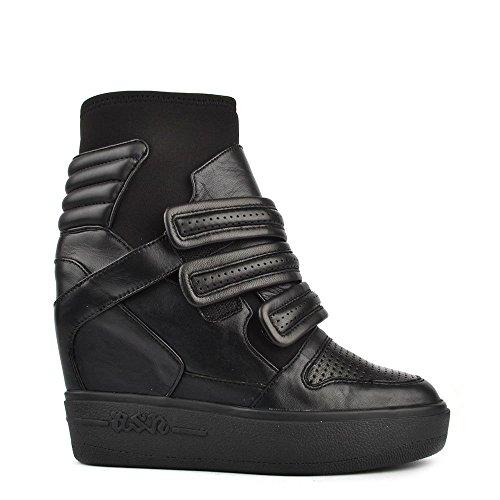 Ash Axel Sneaker con Tacco, Donna 40 EU Nero