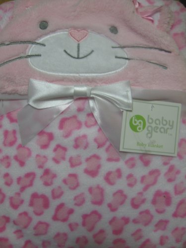 "Baby Gear ""Loving Kitty"" Blanket - pink, one size"