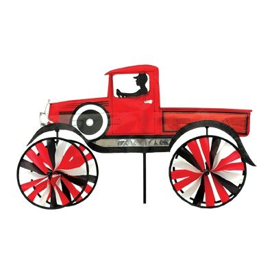 29 in old time truck spinner home garden decor wind for Garden spinners by premier designs