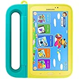 Samsung Tough Grip Case Cover Kit with C-Pen Stylus for Samsung Galaxy 7.0 inch Tab 3 Kids - Mint Green/Yellow