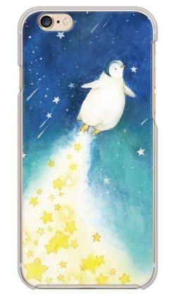 携帯電話taro iPhone6/iPhone6S 専用 ケース カバー (ペンギンロケット) Apple iPhone6S-OCA2-0371