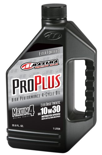 maxima-30-01901-pro-plus-10w-30-synthetic-motorcycle-engine-oil-1-liter-bottle