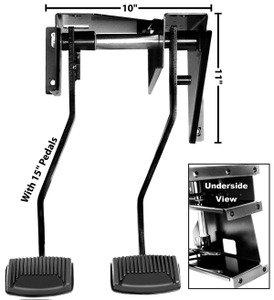 1966-77 Bronco Brake/Clutch Pedal Assembly (Bronco)