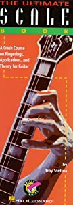 Ultimate Scale Book Pocket Guide Guitar Tab Book