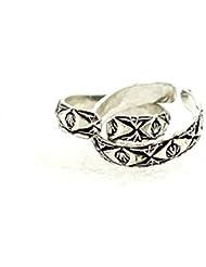 Mjjewel Oxidised Toe Rings Cum Thumb Rings