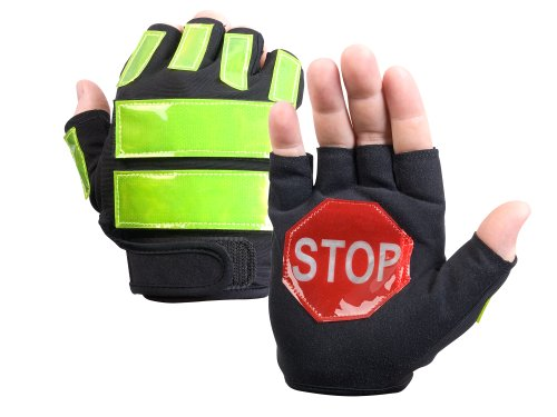 Brite Strike ITG-08L/XL Traffic Safety Gloves, Black, Large/Extra-Large (Traffic Control Equipment compare prices)