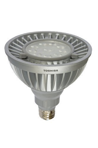 Toshiba Ldrb2035Ne6Usd Par 38 Dimmable 930 Lumens 19 Watt Led Light Bulb 3500K Color Tempature With 8 Degree Flood
