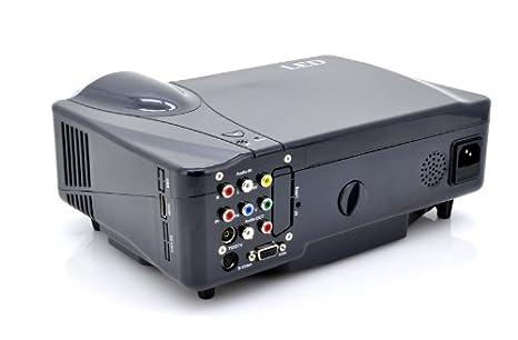 High-Tech Place Videoprojecteur Multimedia LED (HDMI, VGA, YPrPb)