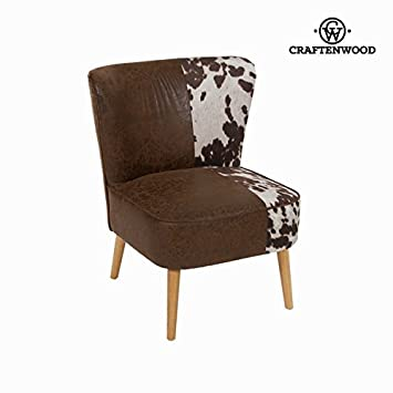 Craften Wood - Wingback chair cow by Craften Wood - bb_S0102590
