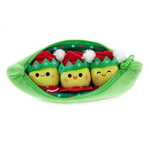 "Disney 3 Peas-in-a-Pod Plush – Toy Story – Holiday – Mini Bean Bag – 8"""