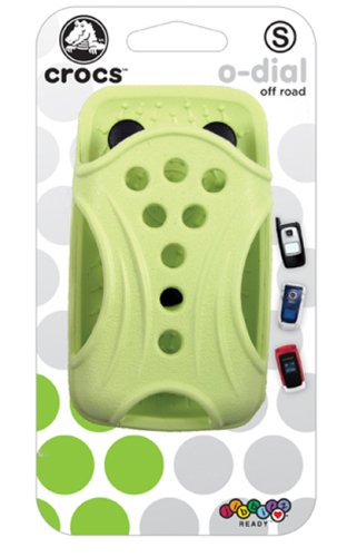 Nite Ize crocs o-dial Off Road Case for Cell Phone, Camera, MP3 Players, or Small Mobile devices (Celery)