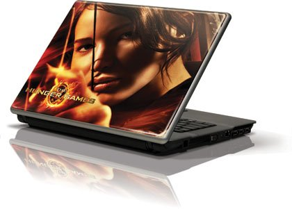 Skinit The Hunger Game -Katniss Bow & Arrow Vinyl Laptop Skin for Generic 12in Laptop (10.6in X 8.3in)