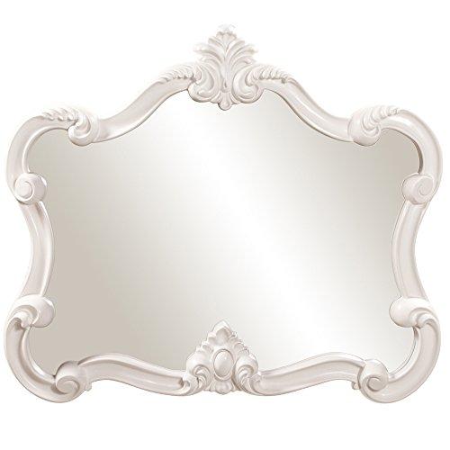 White Bedroom Vanity With Mirror front-67225