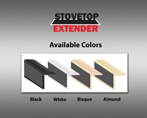 Stovetop Extender SE23WHI Oven Gap Guard (Slide In Stove Gap Filler compare prices)