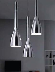 ergo s3 moderne pendelleuchte 3 leuchtet glasspiegel in. Black Bedroom Furniture Sets. Home Design Ideas