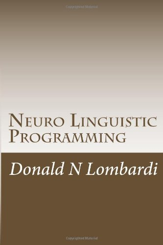 Neuro Linguistic Programming: 1