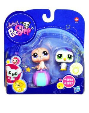 Buy Low Price Hasbro Littlest Pet Shop 2010 Assortment B Series 4 Collectible Figure Penguin Seal (B003TUA260)