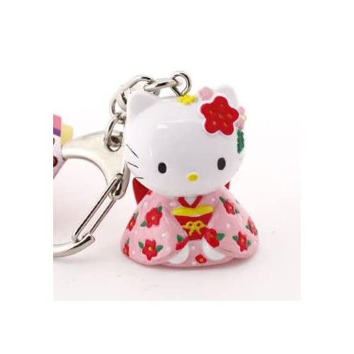 Welcome to Japan Sanrio Hello Kitty Cute Japanese Cultural Charms (Kimono)