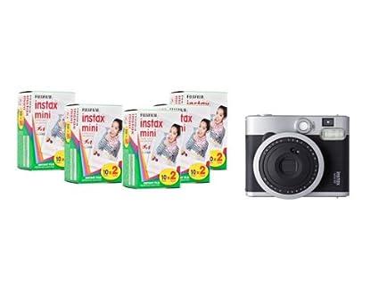 Fujifilm-Instax-Mini-90-Neo-Classic-Instant-Camera-(with-100-Shot-Films)