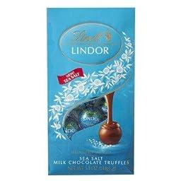 Lindt Lindor Milk Chocolate Truffles Sea Salt 5.1oz(144g)