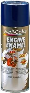 Dupli-Color DE1606 Ceramic Ford Dark Blue Engine Paint - 12 oz.