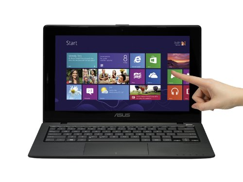 ASUS VivoBook X200CA-DB01T 11.6-Inch Touchscreen Laptop (Black)