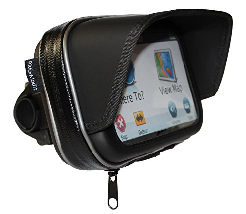 ridermount-waterproof-sunshade-5-gps-satnav-case-with-motorcycle-motorbike-handlebar-mount-for-garmi