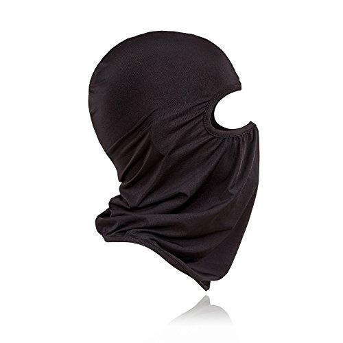 Tempesta maschera | passamontagna maschera moto aspirante maschera Nero con 1foro per moto casco bicicletta indoor outdoor Airsoft sci invernale | Ghost Clown teschio mezzo Joker | per bambini, Donna o Uomo