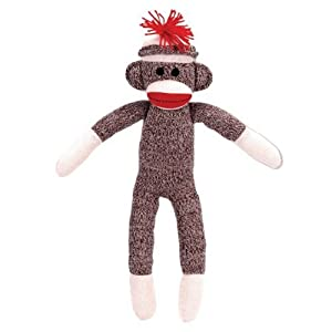 Schylling Sock Monkey at 'Sock Monkeys'