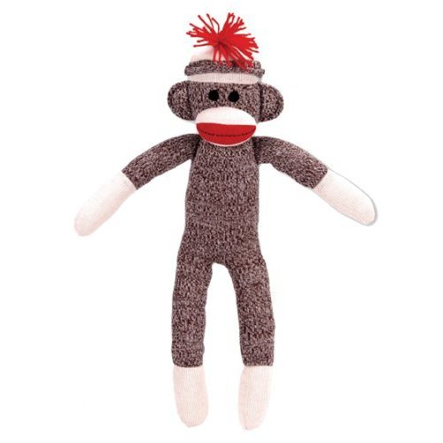 Schylling Sock Monkey at 'Sock Monkeys'
