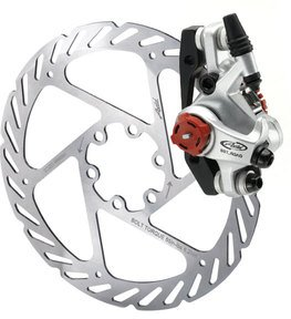 Avid BB7 Road Mechanical Bicycle Disc Brake (140mm, Platinum, Rear)