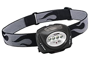 Princeton Tec Quad Headlamp (Black/grey)